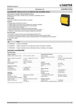 Jednotka moduWeb500