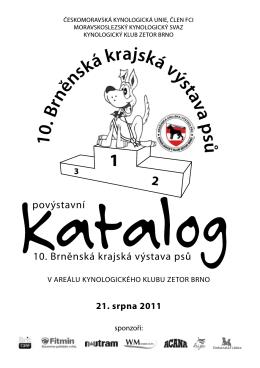 Povýstavní katalog 2011 - Kynologický Klub Zetor Brno