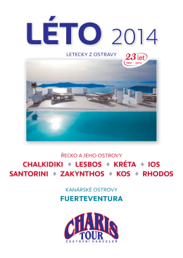 "nový katalog ""Léto 2014"