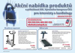 Akční nabídka produktů