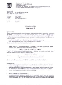 Dokument... - Obec Podlesí