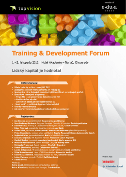 Training & Development Forum