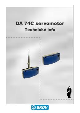 DA 74C servomotor