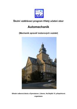 Školní vzdělávací program - Střední škola a Mateřská škola