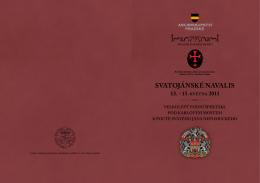 svAtojánsKé nAvAlis 13.