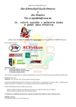 Pozvánka - SDH Topolany