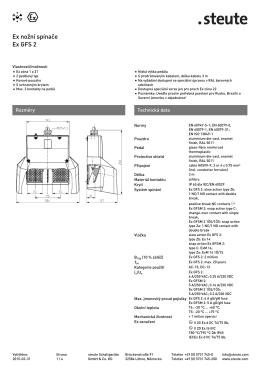Náhled tisku (PDF) - steute Schaltgeräte
