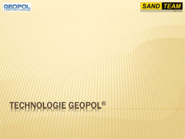 Technologie Geopol®