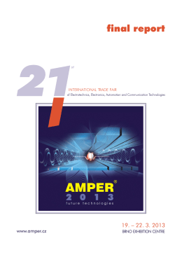 Final Report of AMPER 2013 here