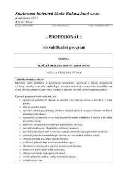 Profesionál - MODUL SLOŽITÁ OBSLUHA HOSTŮ.pdf