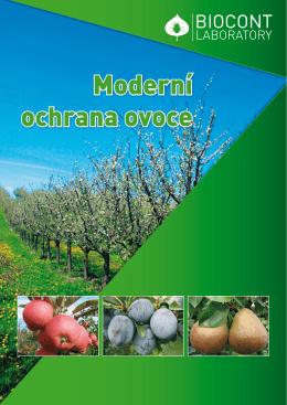 Leták produktů do ovocných sadů - 2015