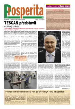 TESCAN představil