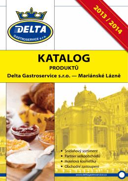 KATALOG - Delta Gastroservice sro