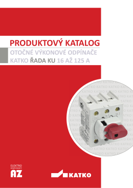 PRODUKTOVÝ KATALOG - Elektrokomponenty AZ