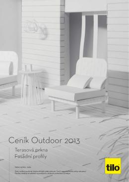 Ceník Outdoor 2013