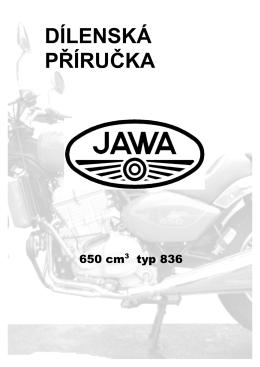 Dílenská příručka pro JAWA 650 - MPS