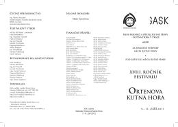 Program - Ortenova.indd