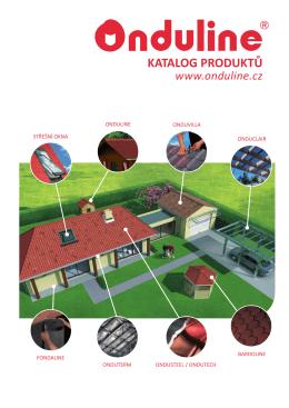 Onduline katalog (PDF) - uzitecna