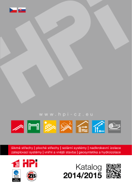 Katalog 2014/2015 - HPI-CZ