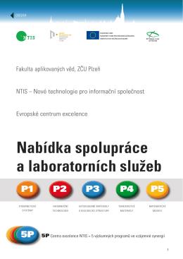 Nabídka spolupráce a laboratorních služeb - NTIS