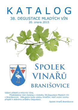 Katalog Degustace - Bohuslav Stloukal