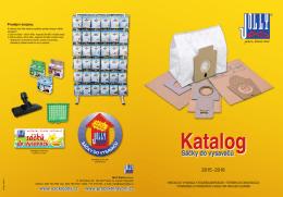 Katalog nabízeného zboží