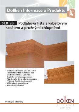 Döllken SLK50 - soklová lišta