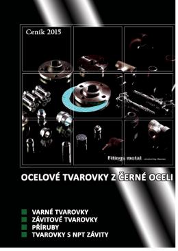 Ceník černá ocel 2015