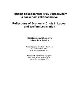 Sekcia pracovného práva