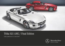 Ceník SLS AMG
