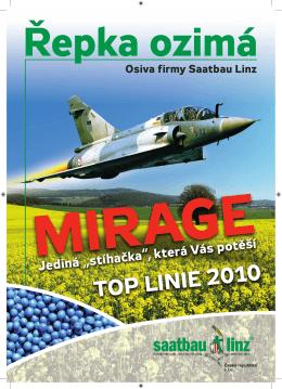 Ozimá řepka MIRAGE - Saatbau Linz Česká republika spol s ro