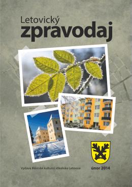 Zpravodaj – únor 2014 - Městské kulturní středisko Letovice