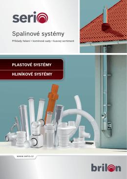 Katalog spalinových systémů SERIO