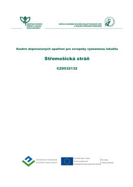 Střemošická stráň - Správa CHKO Železné hory a KS Pardubice