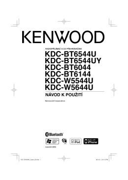 KDC-BT6544U KDC-BT6544UY KDC-BT6044 KDC