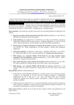 Exekutorský úřad Praha 4, Šátalská 469/1, 142 00 Praha 4 Soudní