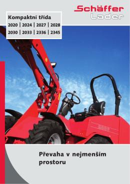 Schäffer statkový nakladač 2000 – katalog