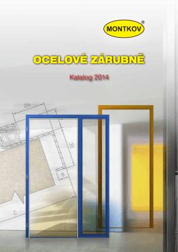 Katalog ocelových zárubní 2014