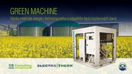Výroba elektrické energie z technologického a odpadního tepla