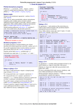 Material pro cviceni 1 (material_EX1.pdf)