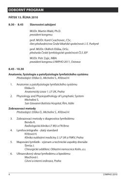 Odborný program (PDF)
