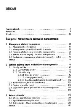 Krizovy management : hrozby - krize - prilezitosti / Emil