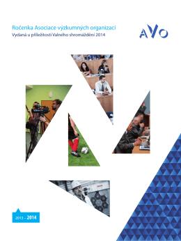 Ročenka AVO 2014 - Asociace výzkumných organizací