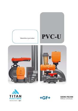 Materiálové provedení PVC-U - TITAN
