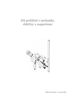 234 problémů z mechaniky, elektřiny a magnetizmu