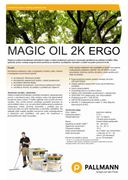 Magic Oil 2K ErgO