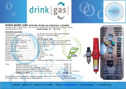 NITROS INSIDE 120M Generátor dusíku pro restaurace a