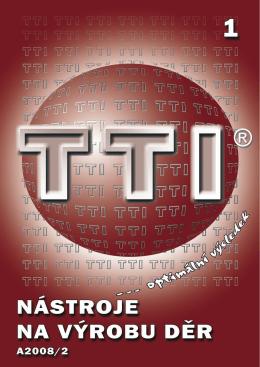 TTI-Nástroje na výrobu děr.indb