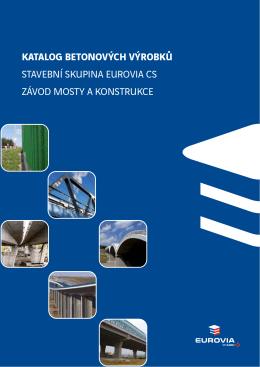 katalog betonových výrobků stavební skupina eurovia cs závod