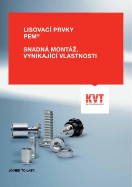 PEM® Lisovací prvky | KVT